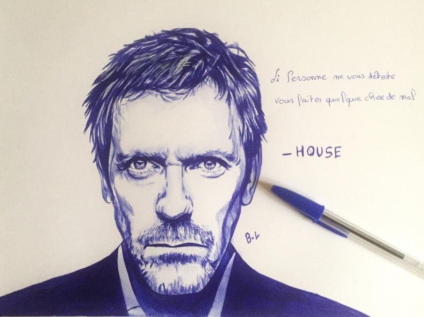 Hugh Laurie par bastienlalou